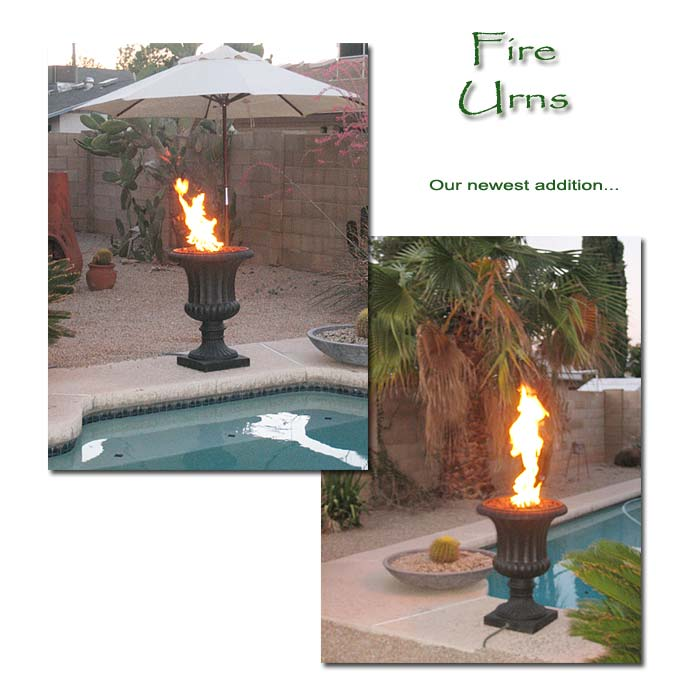 Fire Urns... Our newest addition.